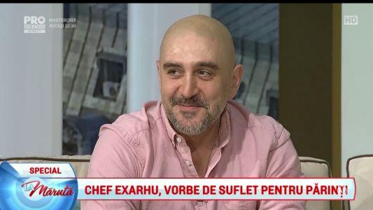 Chef Exarhu, vorbe de suflet pentru parinti