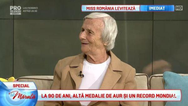 La 90 de ani, alta medalie de aur si un record mondial