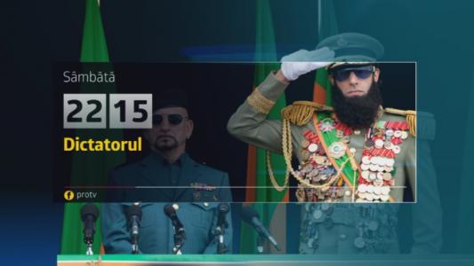 Dictatorul, sambata, 25 martie, de la 22:15, numai la Pro TV
