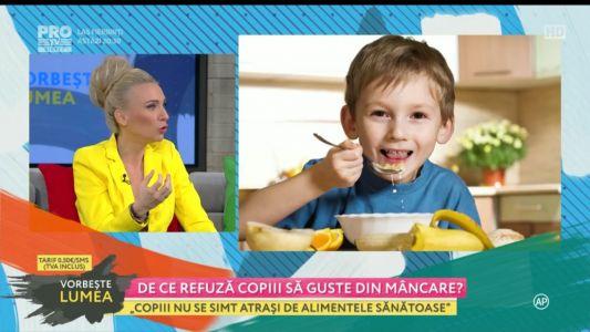 De ce refuza copiii sa guste din mancare