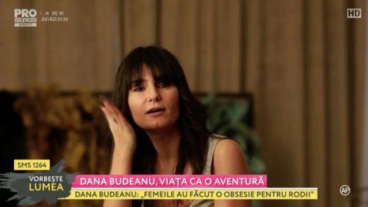 Dana Budeanu, viata ca o aventura: 23 martie 2017