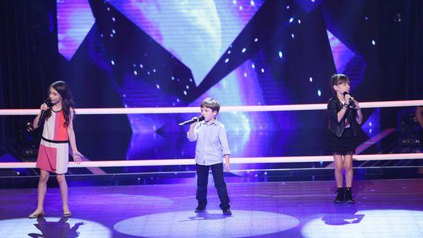 Vocea Romaniei Junior - sezonul 1: Maia Malancus  Ionut Ciurea  Esra Lepadatu