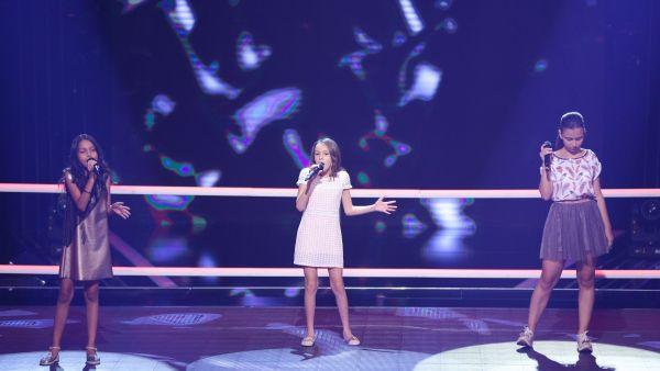 Vocea Romaniei Junior - sezonul 1: Daria Oprea  Katrina Stefan  Melanie Serban