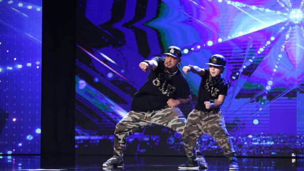 Romanii au Talent 2017: Genil Hasin si Chiriac Nicolas - moment de street dance