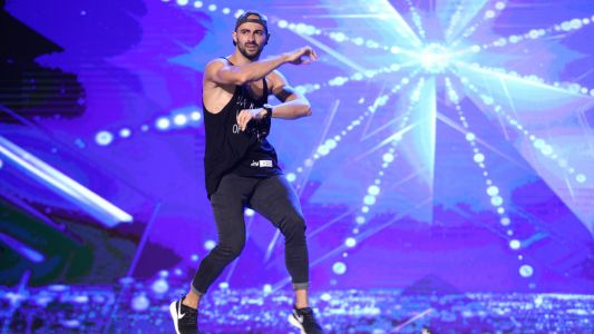 Romanii au Talent 2017: Iuri Ribac - moments de dans freestyle