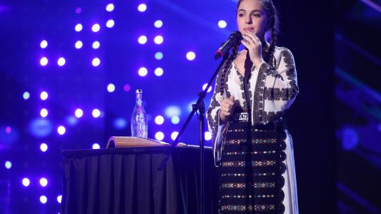 Romanii au Talent 2017: Antonia Stoian - moment de folclor