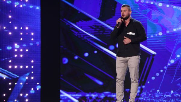 Romanii au Talent 2017: Maxim Prepelita - canta melodia Caruso
