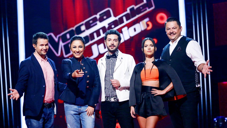 Noua copii se pregatesc de semifinala Vocea Romaniei Junior!