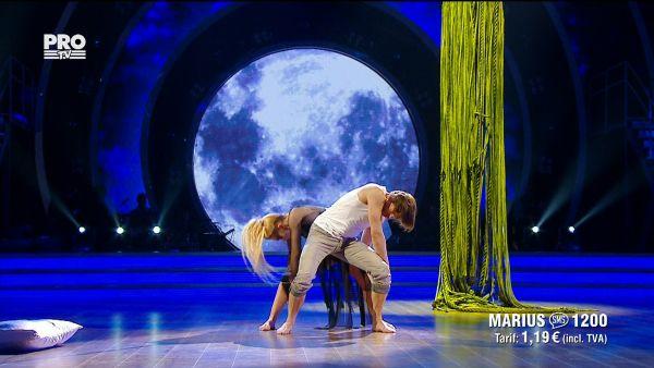 Uite cine danseaza 2017: Marius Manole si Olesea Nespeac - Dans Contemporan