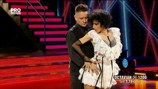 Uite cine danseaza 2017: Octavian Strunila si Oana Botez - Tango
