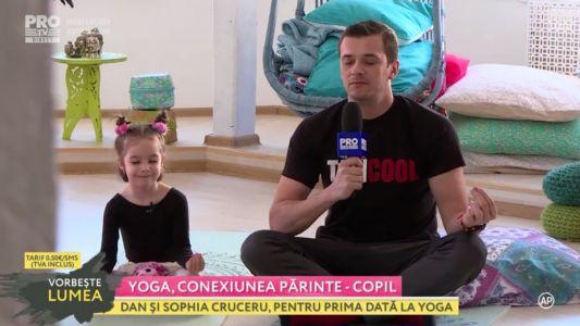 Tati Cool: Yoga, conexiunea parinte copil