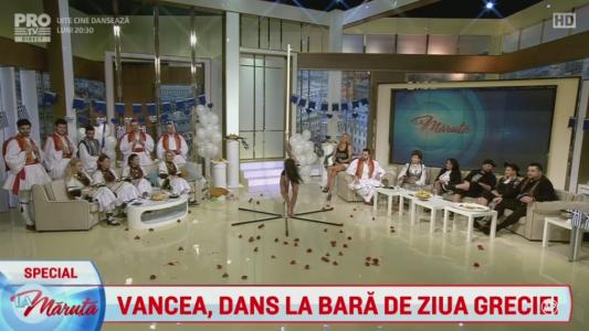 Vancea, dans la bara de ziua Greciei