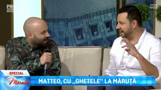"Matteo a venit cu ""Ghetele"" La Maruta"