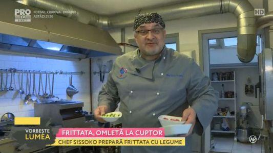 Frittata, omleta la cuptor