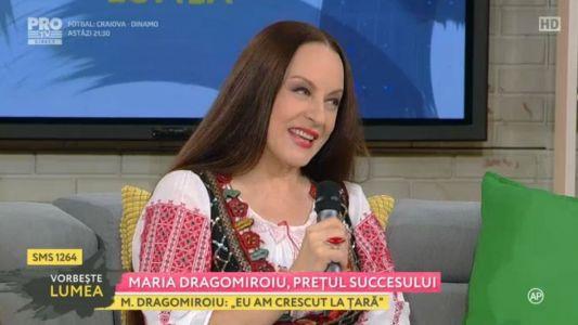 Maria Dragomiroiu, pretul succesului
