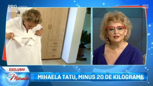 Mihaela Tatu, minus 20 de kilograme