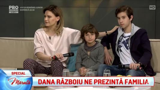 Dana Razboiu ne prezinta familia