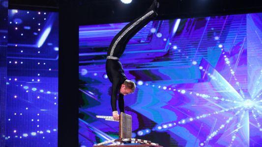 Romanii au Talent 2017: Condrat Marahovschi - Moment de echilibristica pe scaune
