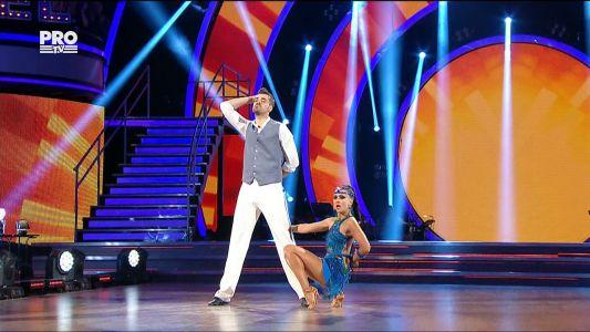 Uite cine danseaza 2017: Liviu Teodorescu si Marica Derdene - Cha Cha