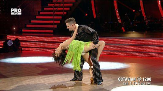 Uite cine danseaza 2017: Octavian Strunila si Oana Botez - Salsa