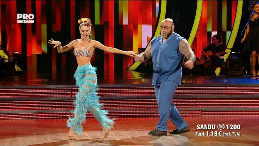 Uite cine danseaza 2017: Sandu Lungu si Raluca Netca - Salsa