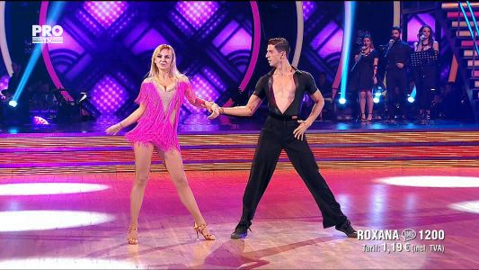 Uite cine danseaza 2017: Roxana Ionescu si Andrei Mangra - Salsa