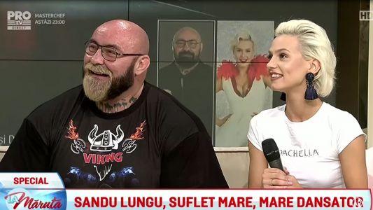 Sandu Lungu, suflet mare, mare dansator