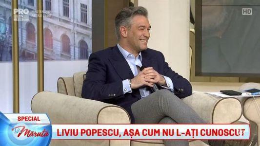 Liviu Popescu, asa cum nu l-ati cunoscut