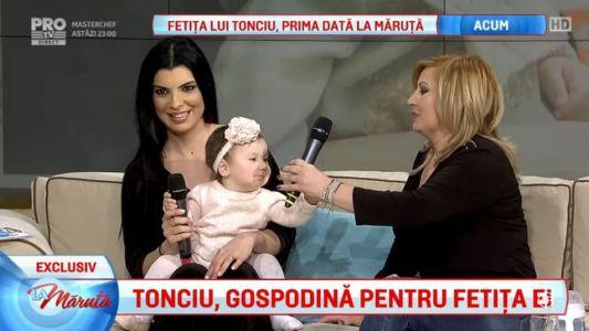 Andreea Tonciu, gospodina pentru fetita ei
