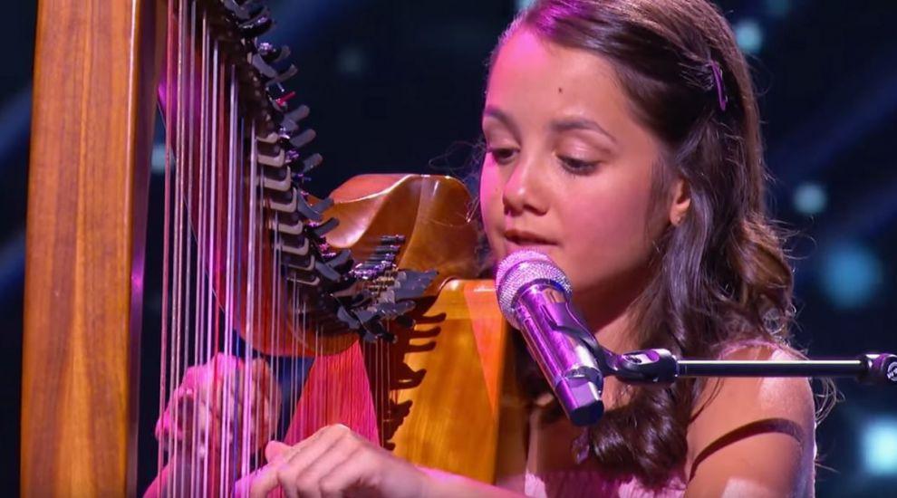 A cantat la harpa una din piesele preferate ale Andrei. Acum, a ajuns la cea mai tare emisiune din SUA. Cum i-a cucerit