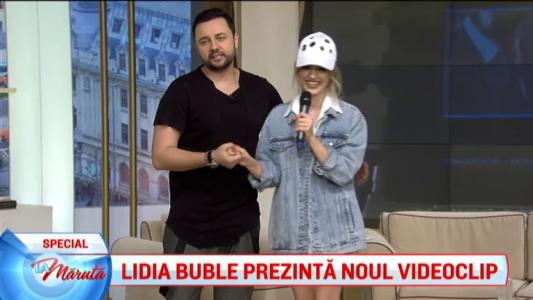 Lidia Buble prezinta noul clip