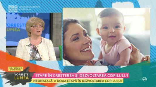 Etape in cresterea si dezvoltarea copilului