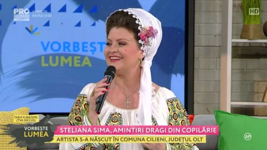 Steliana Sima, amintiri dragi din copilarie