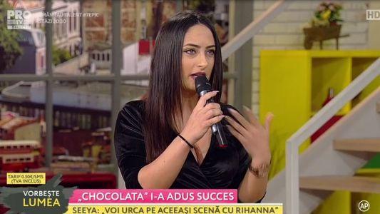 """""""Chocolata"""" i-a adus succes"""