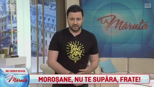 Morosanu, nu te supara, frate!