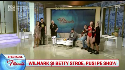 Wilmark si Betty Stroe, pusi pe show