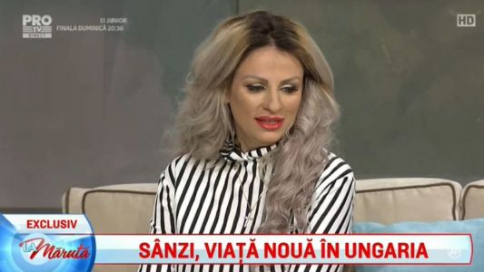 Sanzi, viata noua in Ungaria