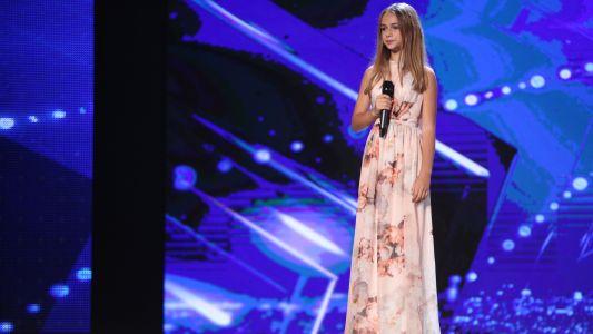 "Romanii au Talent 2017: Eva Timus - Interpreteaza piesa ""Beautiful"""