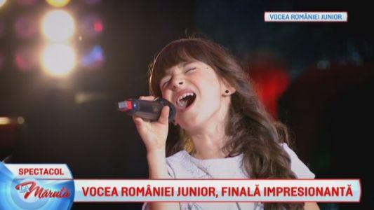 Vocea Romaniei Junior, finala impresionanta