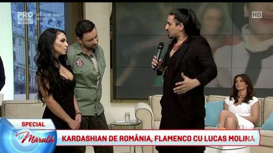 Kim Kardashian de Romania, flamenco cu Lucas Molina