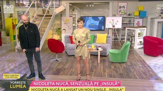"Nicoleta Nuca, senzuala pe ""Insula"""