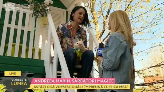 Andreea Marin, sarbatori magice