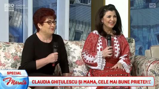 Claudia Ghitulescu, cantec pentru mama