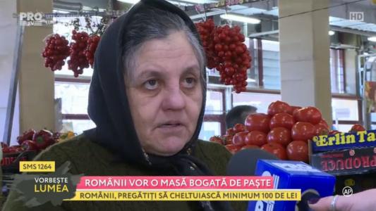Romanii vor o masa bogata de Paste