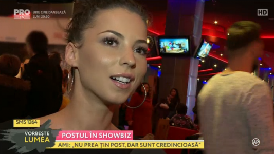 Postul in showbiz