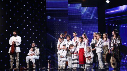 Romanii au Talent 2017: Familia Udrea - Moment artistic de folclor
