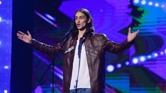 "Romanii au Talent 2017: Radu Rad - Canta melodia ""Non piu andrai"""