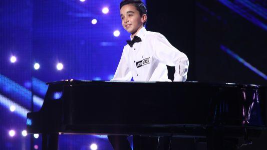 Romanii au Talent 2017: Eduard Camen - Canta la pian