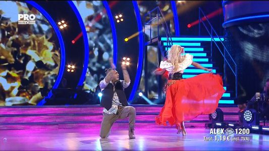 Uite cine danseaza 2017: Alex si Ecaterina - Gipsy Style