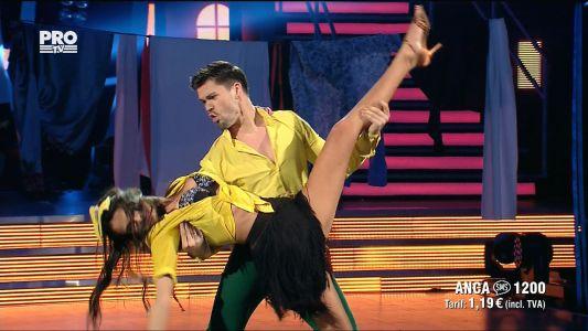 Uite cine danseaza 2017: Anca si Nicolai - Salsa